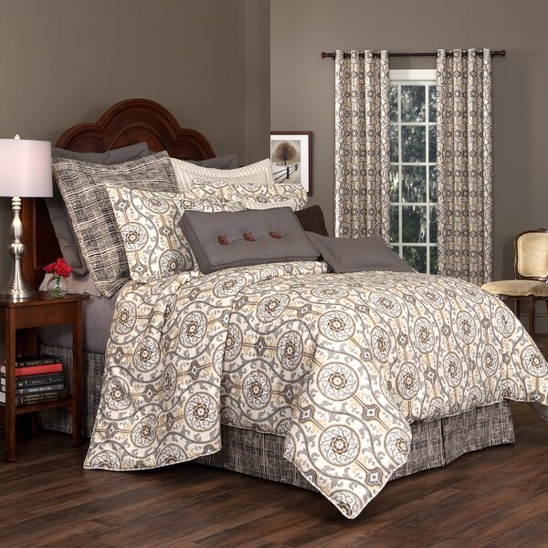 Lazaro 100% Cotton Comforter Set by Darby Home Co